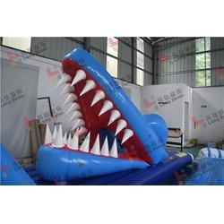 充气支架游泳池厂家-兰州充气支架游泳池-认准乐弘气模图片