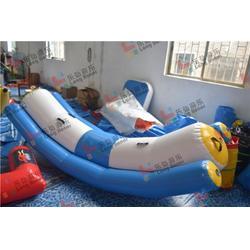 充气水上跷跷板供应商-沈阳充气水上跷跷板-认准乐弘气模图片