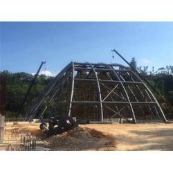 圣雄管桁架生产(多图)|弯管管桁架钢结构|揭阳管桁架图片