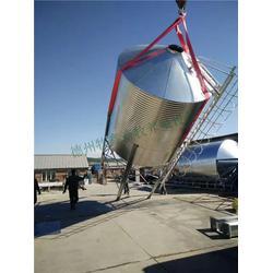 镀锌板料塔生产厂家-牧鑫养殖设备(在线咨询)镀锌板料塔图片