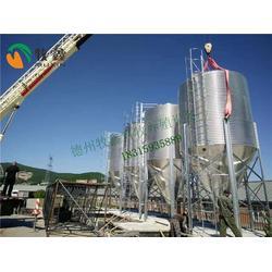 镀锌板料塔厂家、牧鑫养殖保证售后服务、鹤壁镀锌板料塔图片