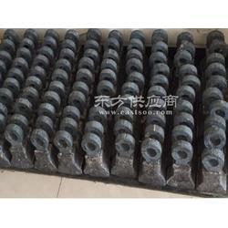 高铬双合金锤头厂家鑫尔达生产效率高图片