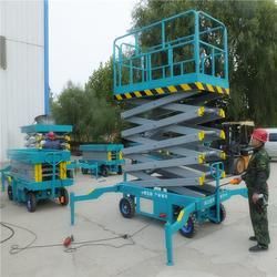 北工机械移动剪叉式、移动式升降机厂家直销、岳阳移动式升降机图片