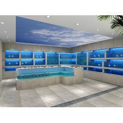 福州玻璃海鲜池设备、福州海鲜池厂家、福州玻璃海鲜池图片