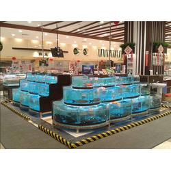 平潭海鲜池|福州鑫宇海鲜池|超市海鲜池图片