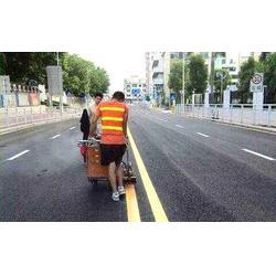 扬州道路划线_南京路美师划线_小区道路划线公司图片