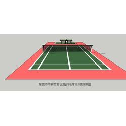 塑胶跑道建设_塑胶跑道_华宸体育透气型跑道图片