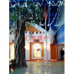 锥形不锈钢旗杆,南京不锈钢旗杆,合肥汇旭(查看)图片