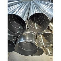 专业生产不锈钢_三门峡不锈钢加强筋螺旋风管图片