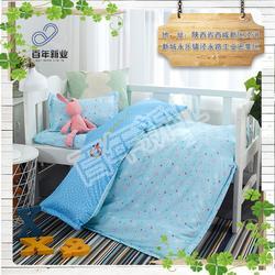 专业儿童床上用品,陕西儿童床上用品,百年新业床上用品厂家图片