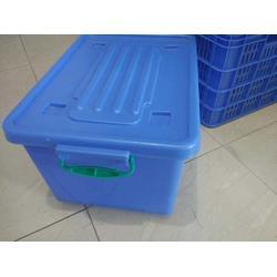 潮州塑料餐具消毒箱-深圳餐具箱-汕头乔丰塑料周转筐厂家图片