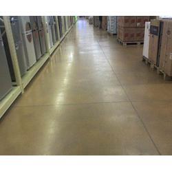 合肥固化剂地坪-安徽世博装饰工程-车库固化剂地坪施工图片