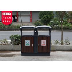 钢木垃圾桶、永康绿享环卫(在线咨询)、广西钢木垃圾桶