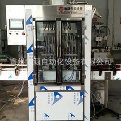 液体全自动灌装机、灌装机、鲁源白酒灌装包装生产线图片