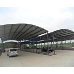 合肥宏建(图) 轻钢雨棚厂家 滁州轻钢雨棚图片
