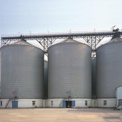 大型螺旋式鋼板倉-廣西大型啤酒鋼板倉-裕盛鋼板倉建設(查看)