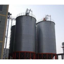 大型螺旋卷板仓-裕盛钢板仓(在线咨询)慈溪大型啤酒钢板仓图片
