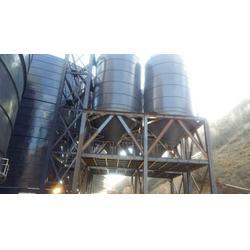 文昌大型啤酒钢板仓-裕盛钢板仓建设-大型粮食钢板仓图片