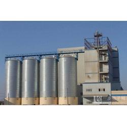 大型粉煤灰钢板仓-临沂大型水泥钢板仓-裕盛钢板仓图片