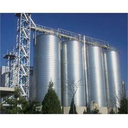 钢板仓厂家-威海钢板仓厂-裕盛钢板库图片