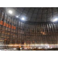 大型焊接钢板仓-裕盛钢板仓建设-衡阳大型钢板仓图片