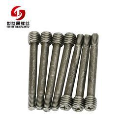 深圳台阶外六角螺丝、台阶外六角螺丝、世世通非标异型螺丝厂图片