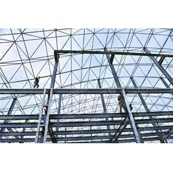 h型钢结构别墅|钢结构|钢结构施工就找中安批发