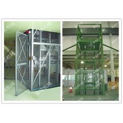 工业导轨式货梯配件 豪硕液压机械(在线咨询) 工业导轨式货梯图片