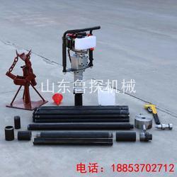 鲁探供应20米浅层土壤取样钻机QTZ-3 大功率取土钻机图片
