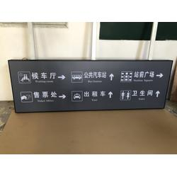 高铁指示牌导向灯箱,天津高铁指示牌导向灯箱,瀛鑫灯箱器材厂图片