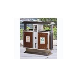 鸿鑫文体销售塑料环卫垃圾桶 钢木垃圾桶 铁皮垃圾桶 垃圾车销售地址图片