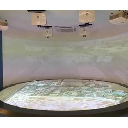鸿光科技、上海投影沙盘、投影沙盘图片