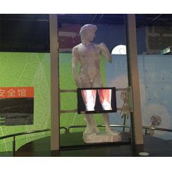 北京滑轨电视报价-滑轨电视-鸿光科技图片