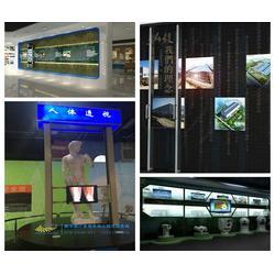 滑轨电视-展厅滑轨电视怎么样-鸿光科技(优质商家)图片