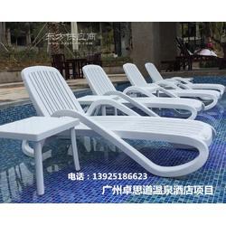 美观大方结实耐用的游泳池躺椅图片