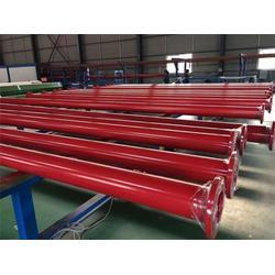 涂塑鋼管-海馬公司現貨-承插式涂塑鋼管涂塑鋼管