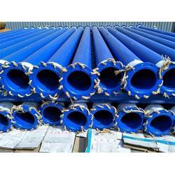 揭阳涂塑钢管-海马公司现货-大口径承插口涂塑钢管涂塑图片