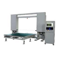 万信机械海绵切割机厂(图)|海绵切割机 沙发|花都海绵切割机图片