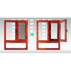 公安县断桥平开窗|断桥平开窗直销|创富平开窗专业安装图片