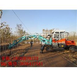 多用植树挖坑机柴油泵 果园用挖掘机挖坑机挖掘机改装挖坑机图片