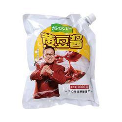 黄豆酱-好伙计(优质商家)黄豆酱生产厂家图片