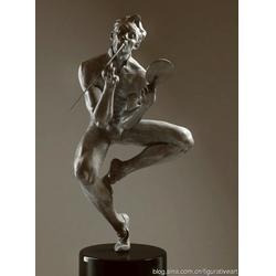 玻璃钢雕塑公司-鹤顶红雕塑-松原玻璃钢雕塑图片