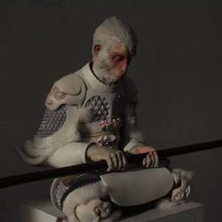 雕塑厂家|雕塑|鹤顶红雕塑(查看)图片