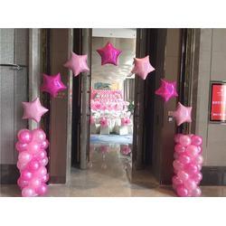 情人节场地气球布置_洛阳气球布置_【乐多气球】(查看)图片