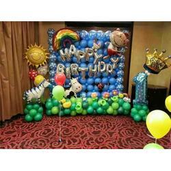 偃师孟津周岁生日气球布置|【乐多气球】图片