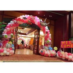 气球装饰,【乐多气球】,洛阳车展气球装饰图片