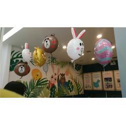 展厅彩球装饰_【乐多气球】(在线咨询)_洛阳彩球装饰图片