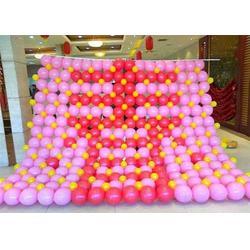 义马彩球装饰,【乐多气球】,商业彩球装饰图片