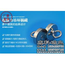 鑫科磁业质量立足市场-吸盘挂钩磁铁订做-广东吸盘挂钩磁铁图片