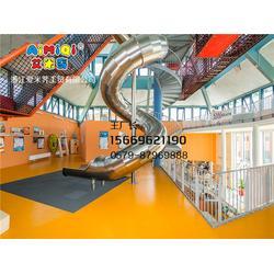 商场不锈钢滑梯,爱米荠售后服务好,不锈钢滑梯图片